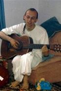 Hare Krishna days, circa 1988